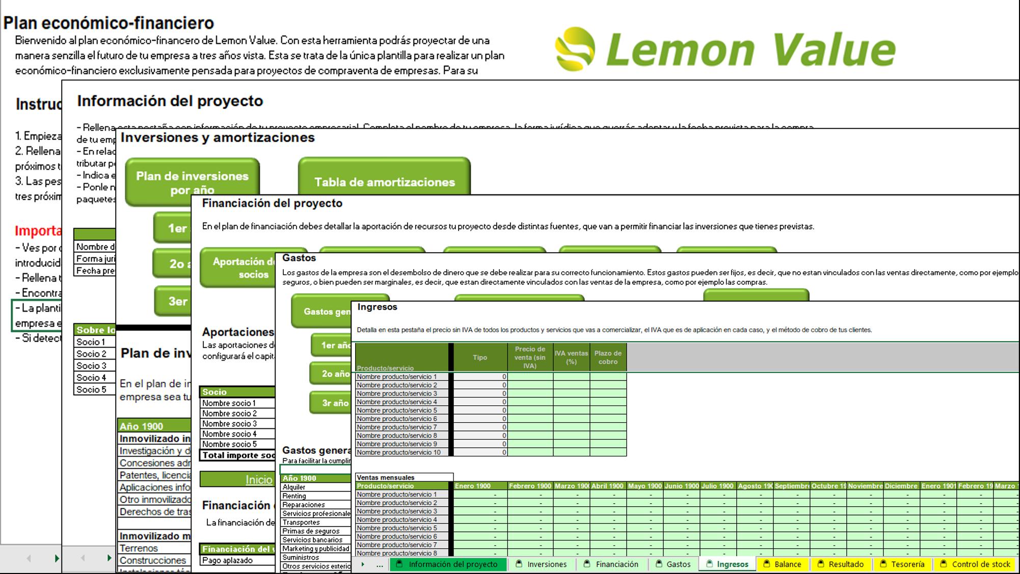 Plan Economico Financiero Imagen Lemon Value