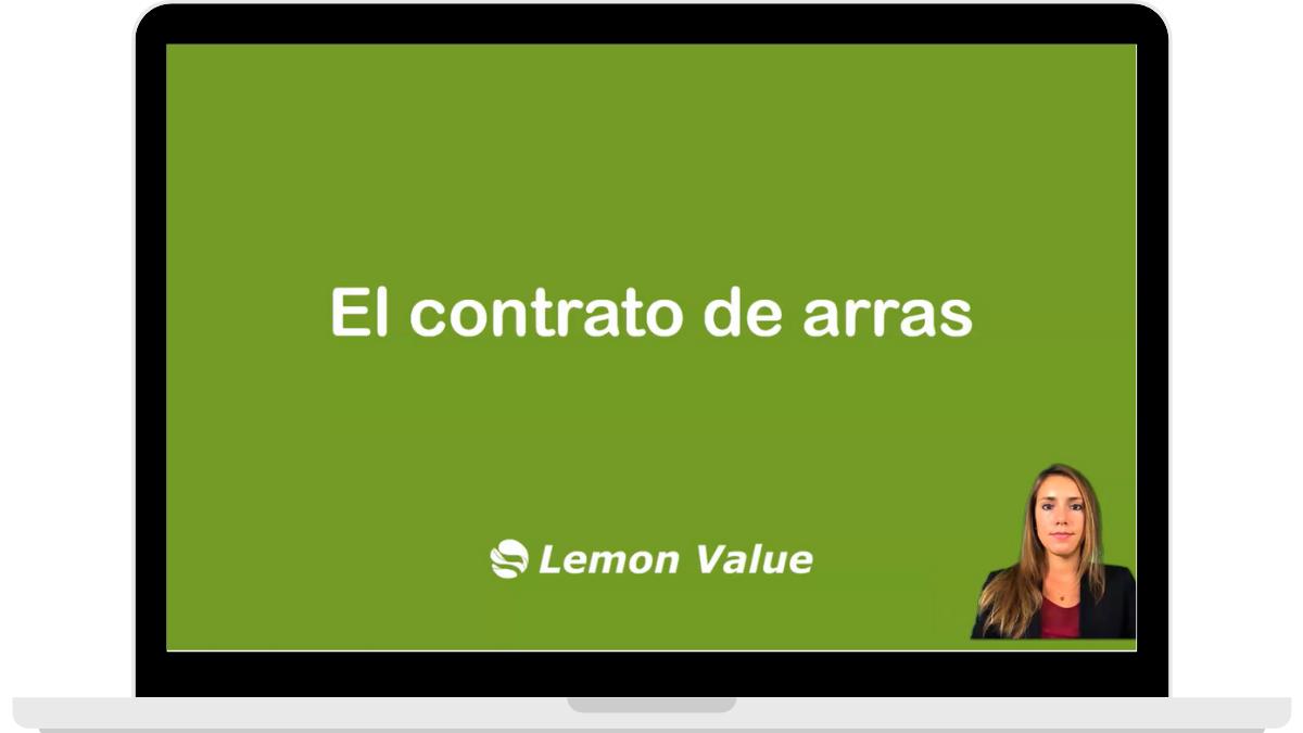 Lemon Value Video Contrato de Arras