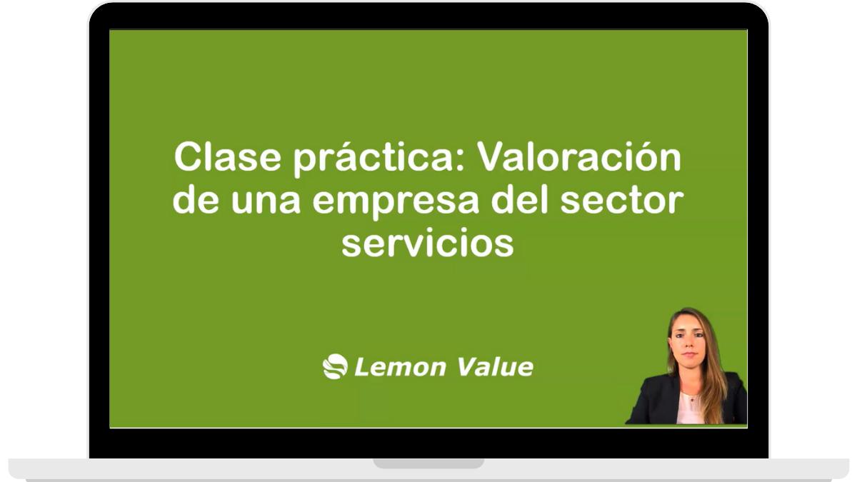 Lemon Value_Valoración empresa sector servicios