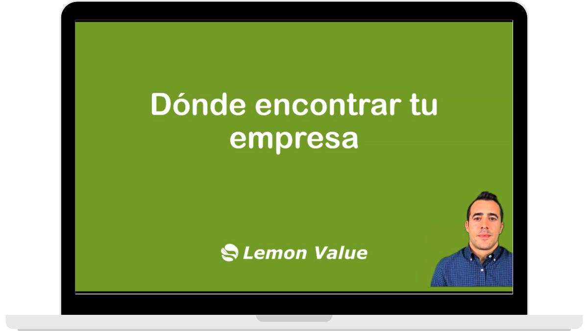 Lemon Value_clase_encontrar empresa